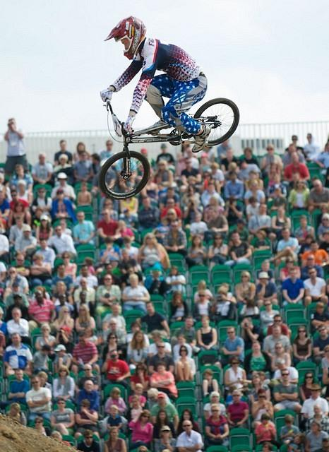 London Prepares UCI Supercross BMX test event