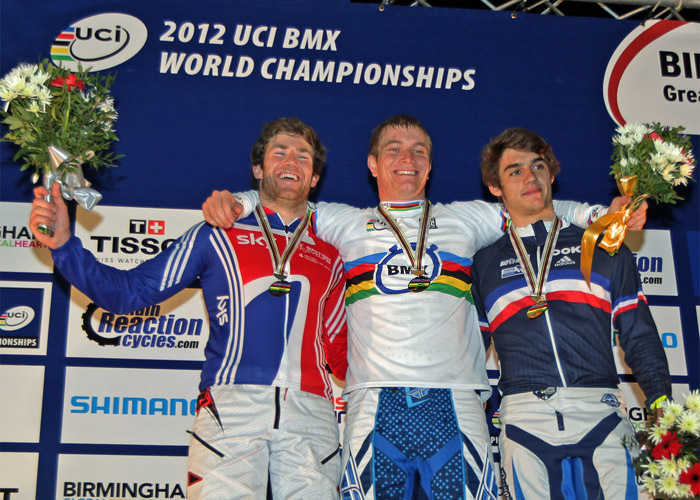 Connor Fields wins UCI BMX World Championship Time Trial