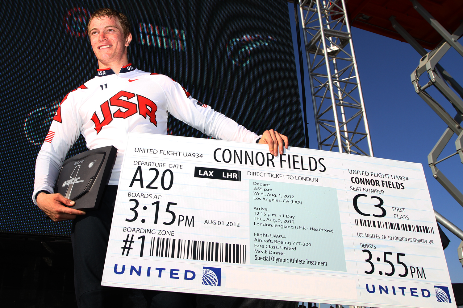 Connor Fileds wins USA Olympic Trails event