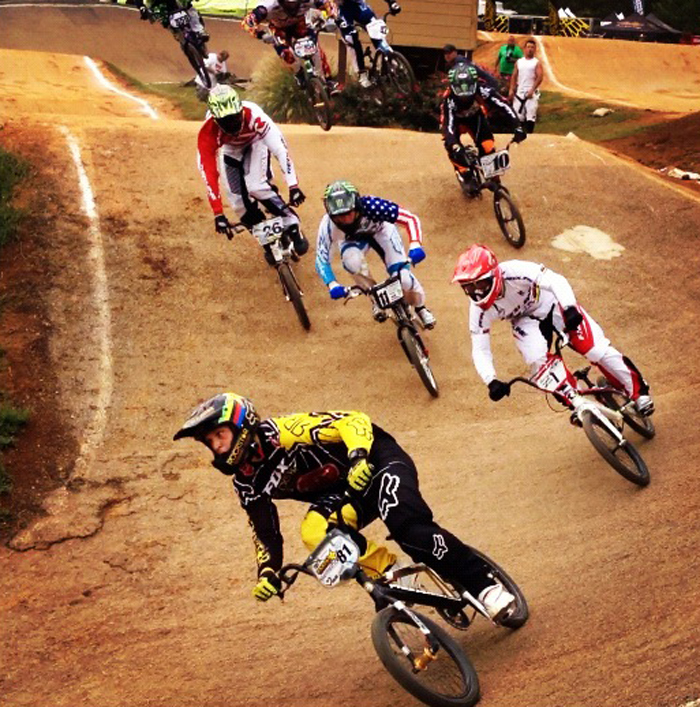Connor goes 3 for 3 at the USA BMX Bluegrass Nationals