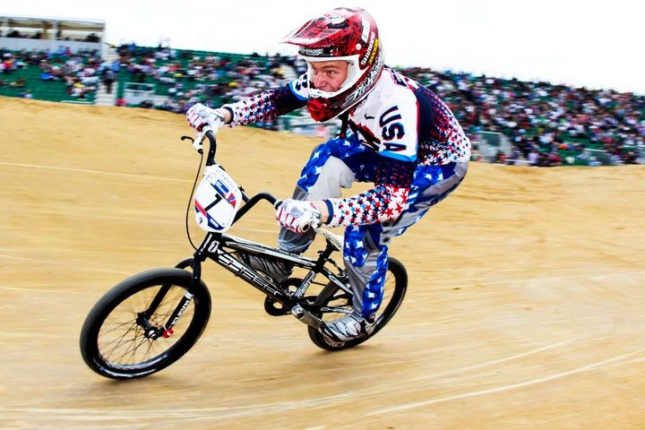 Connor at UCI BMX World Championships
