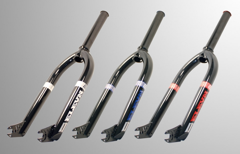 New Bars & Forks from Elevn Racing