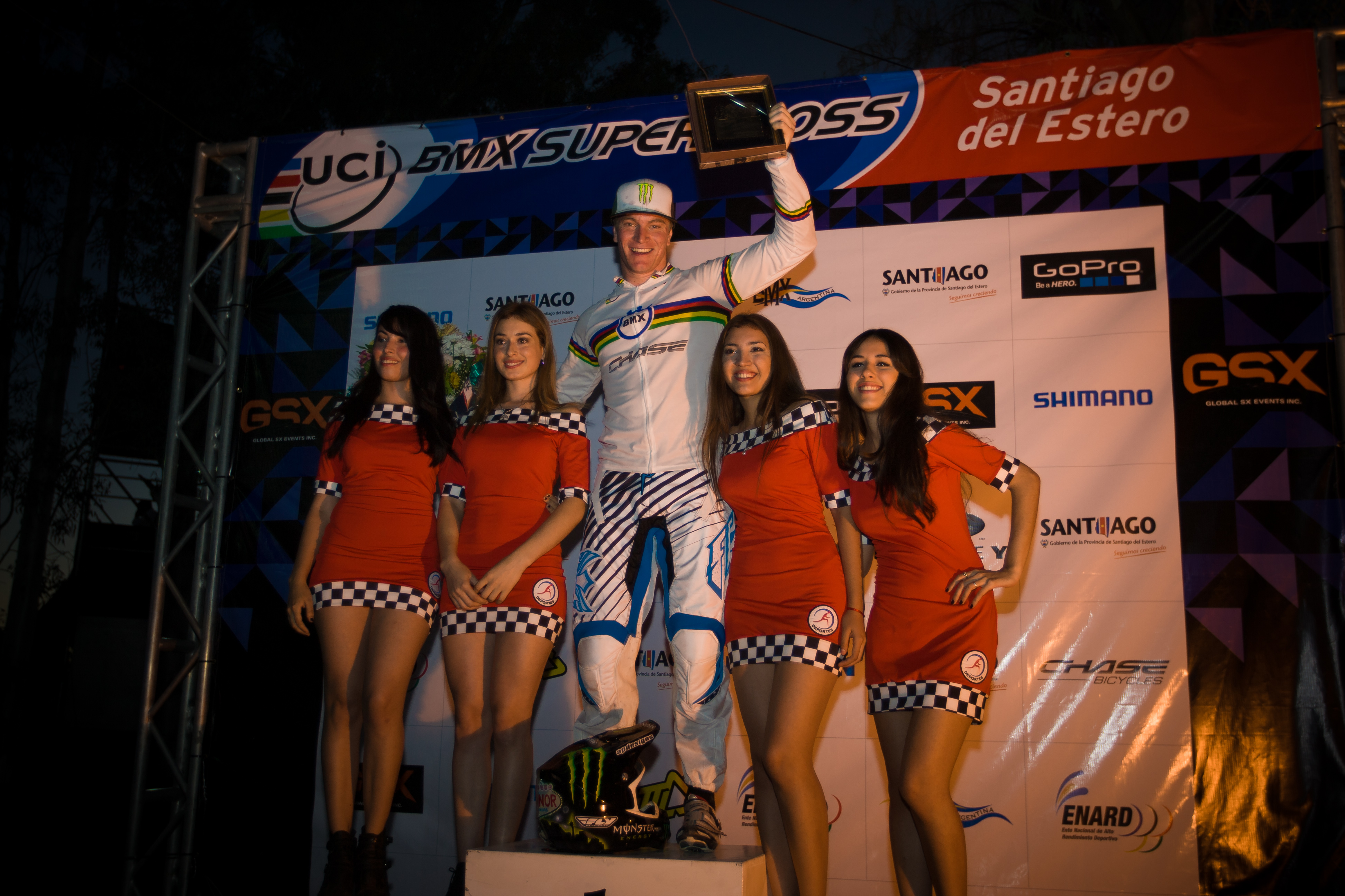 Connor Fields wins the UCI World Cup #2 SuperFinal Time Trial