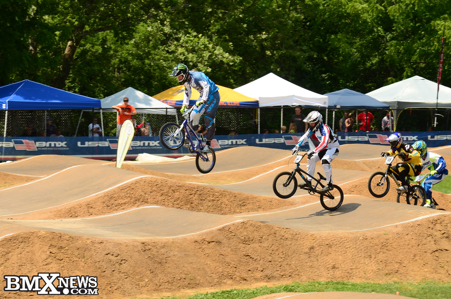 Connor Fields Once Again On The Podium Usa Bmx Race Report