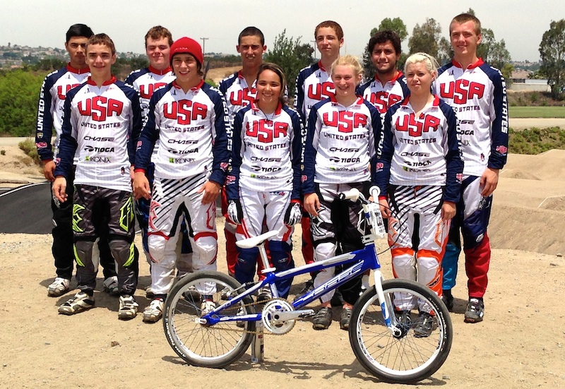 Chase BMX at the USA Cycling Jr Devo Camp #2 of 2013