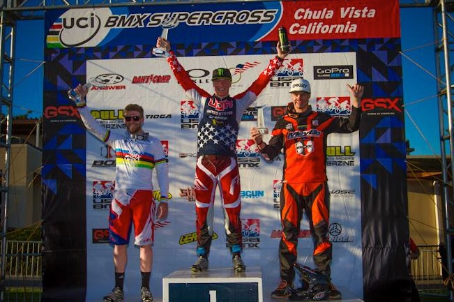 Connor Fields wins the UCI BMX World Cup Title!