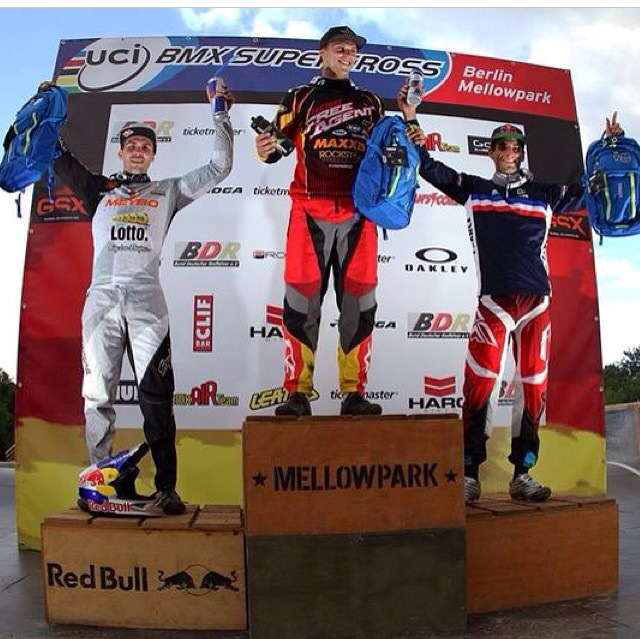 Mens podium UCI BMX SX#3