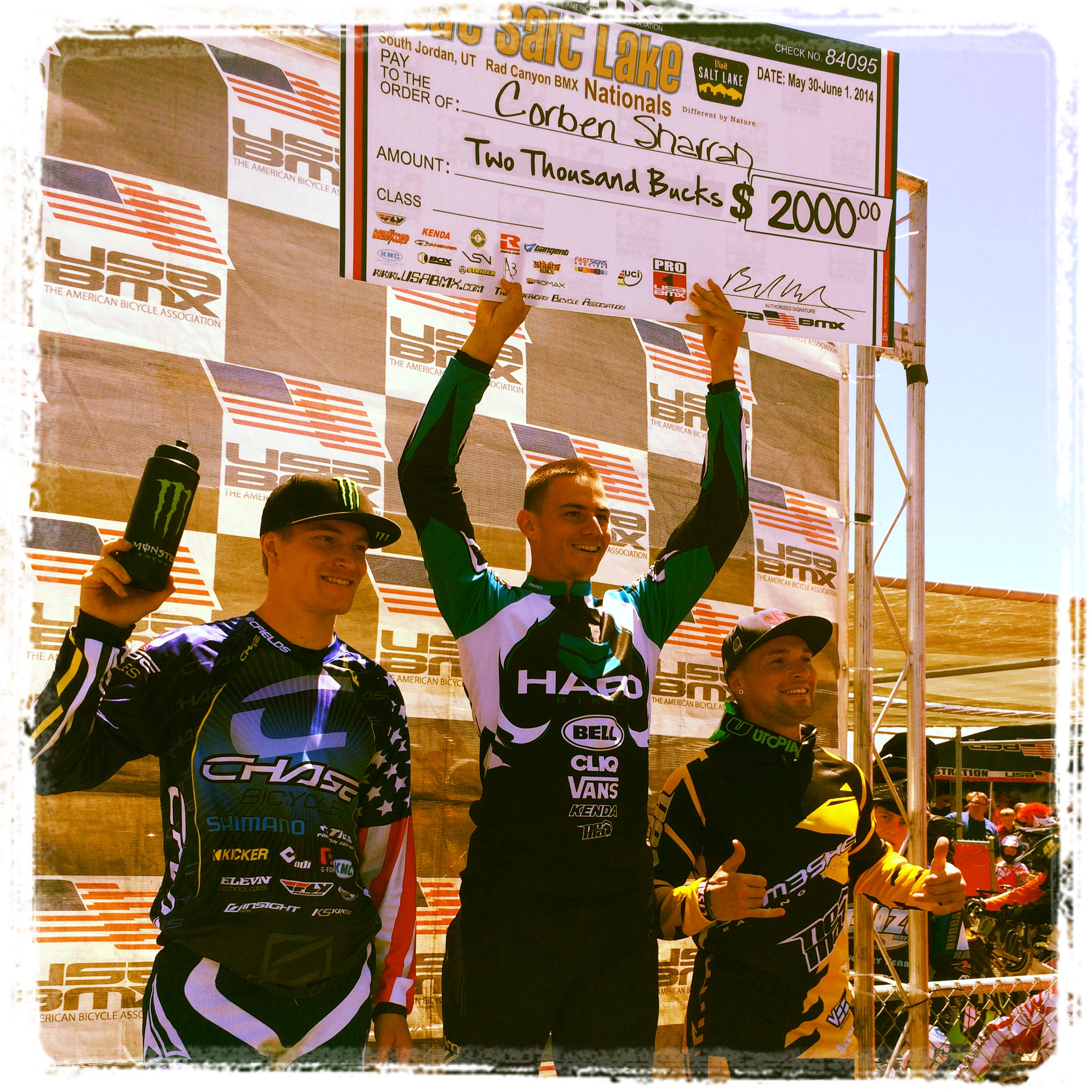 Connor Fields finishes 2nd on Day 2 of the USA BMX Great Salt lake City nationals