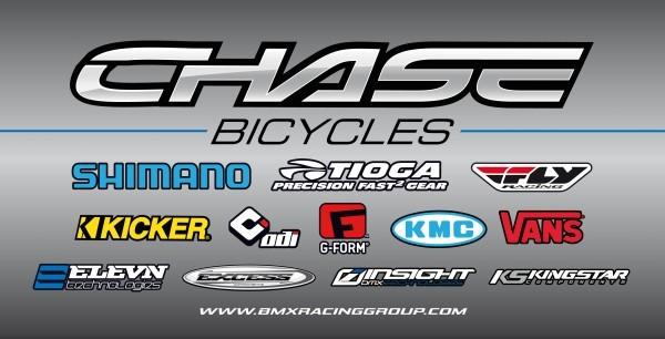 Chase Sponsor logos