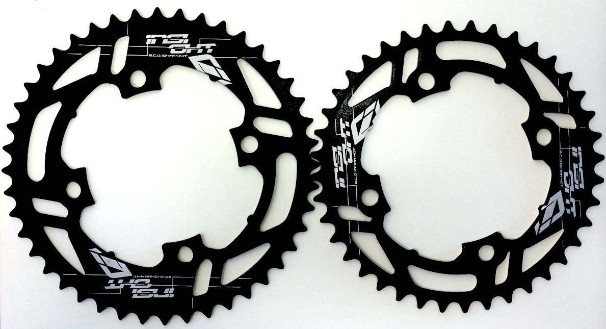 New from Insight BMX – 4 Bolt Chainrings