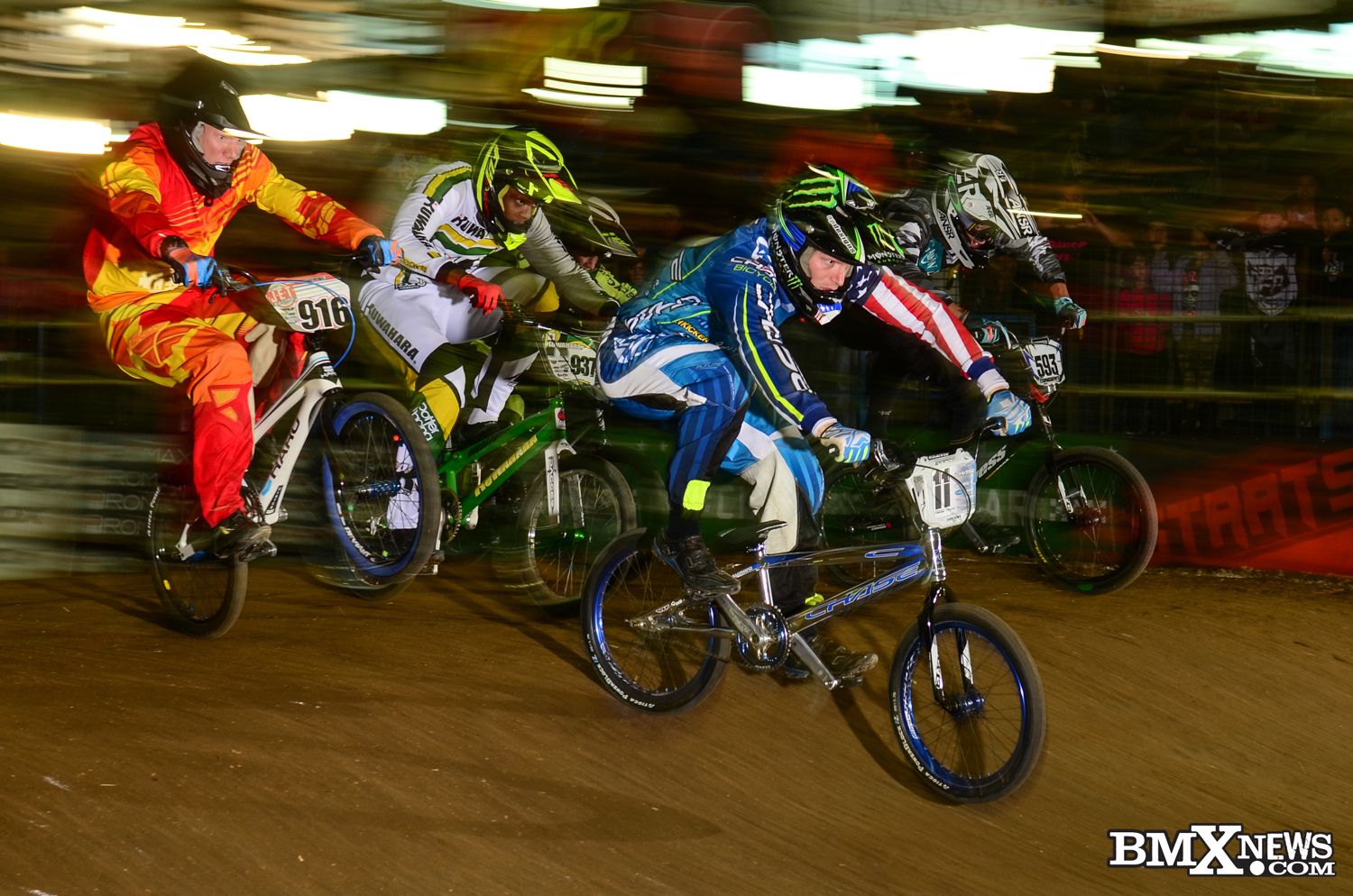 USA BMX Race of Champions – Connor Fields finishes 2nd