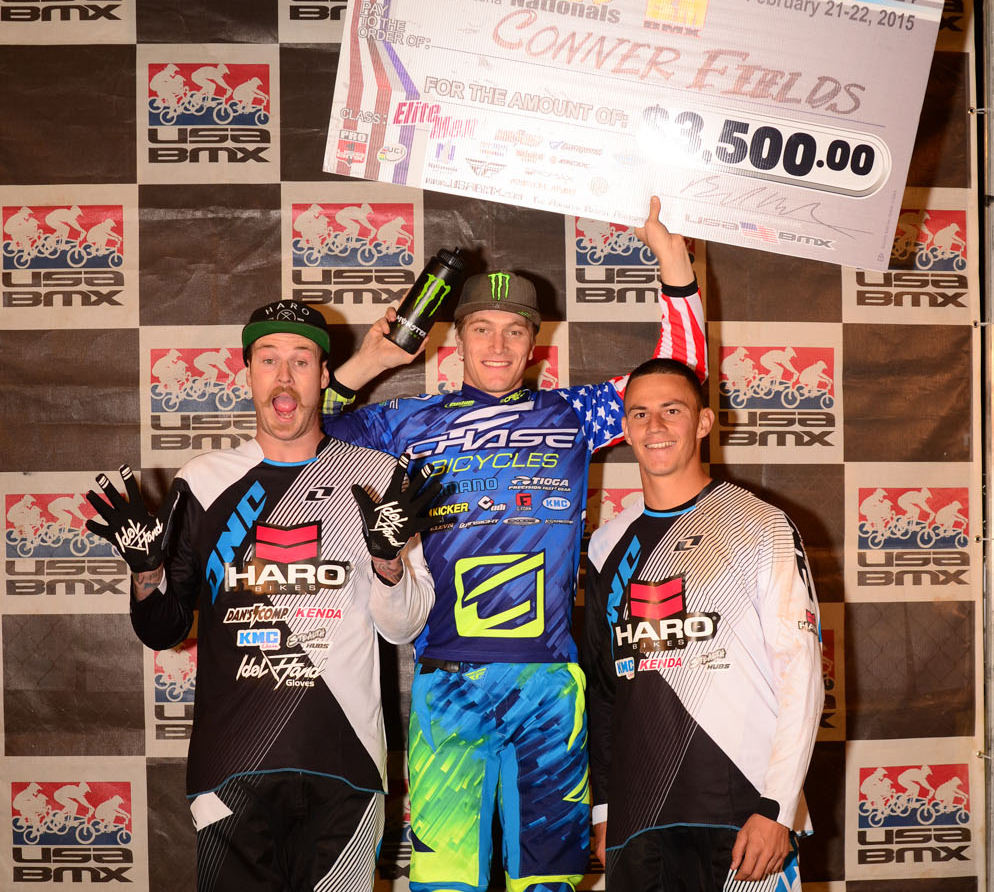 2015 USA BMX Pro Series Season Opener – Connor Fields kicks off the season with a win!