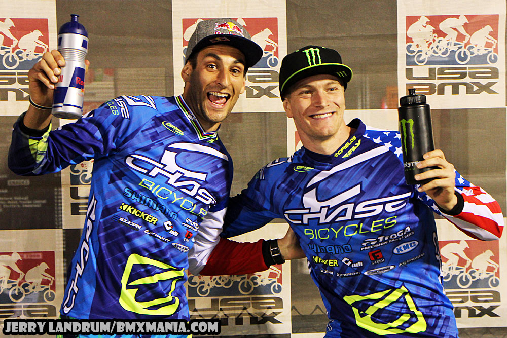 Joris Daudet and Connor both on the Podium for North American Supercross event and Fields wins North American Continental Championship at Rock Hill, SC