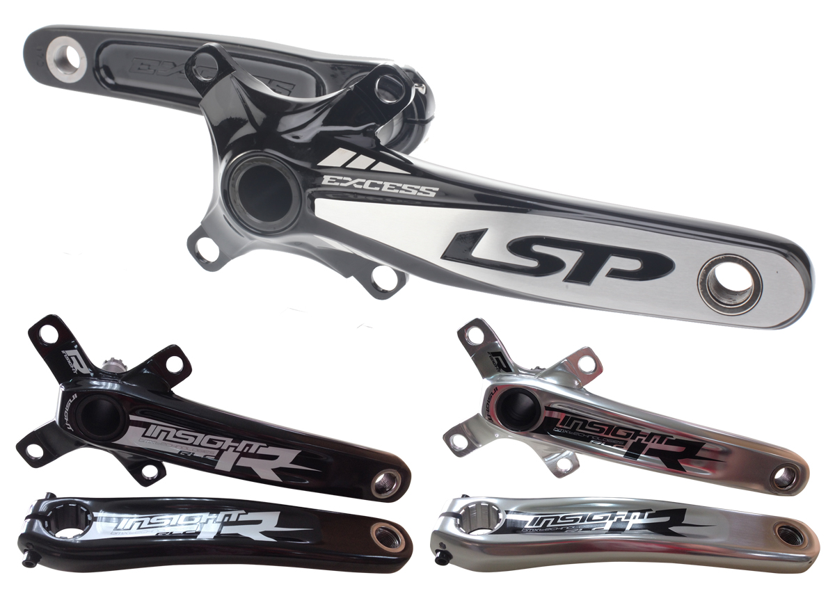 New Excess and Insight Cranks now available