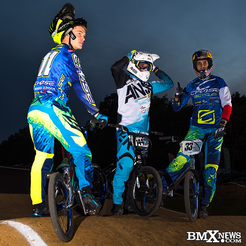 Connor Fields, Anthony Dean, and Joris Daudet in Nashville, TN