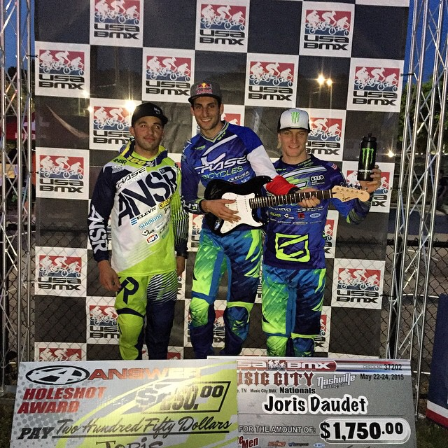 Joris Daudet Wins both days, Chase Sweeps Podium at ...