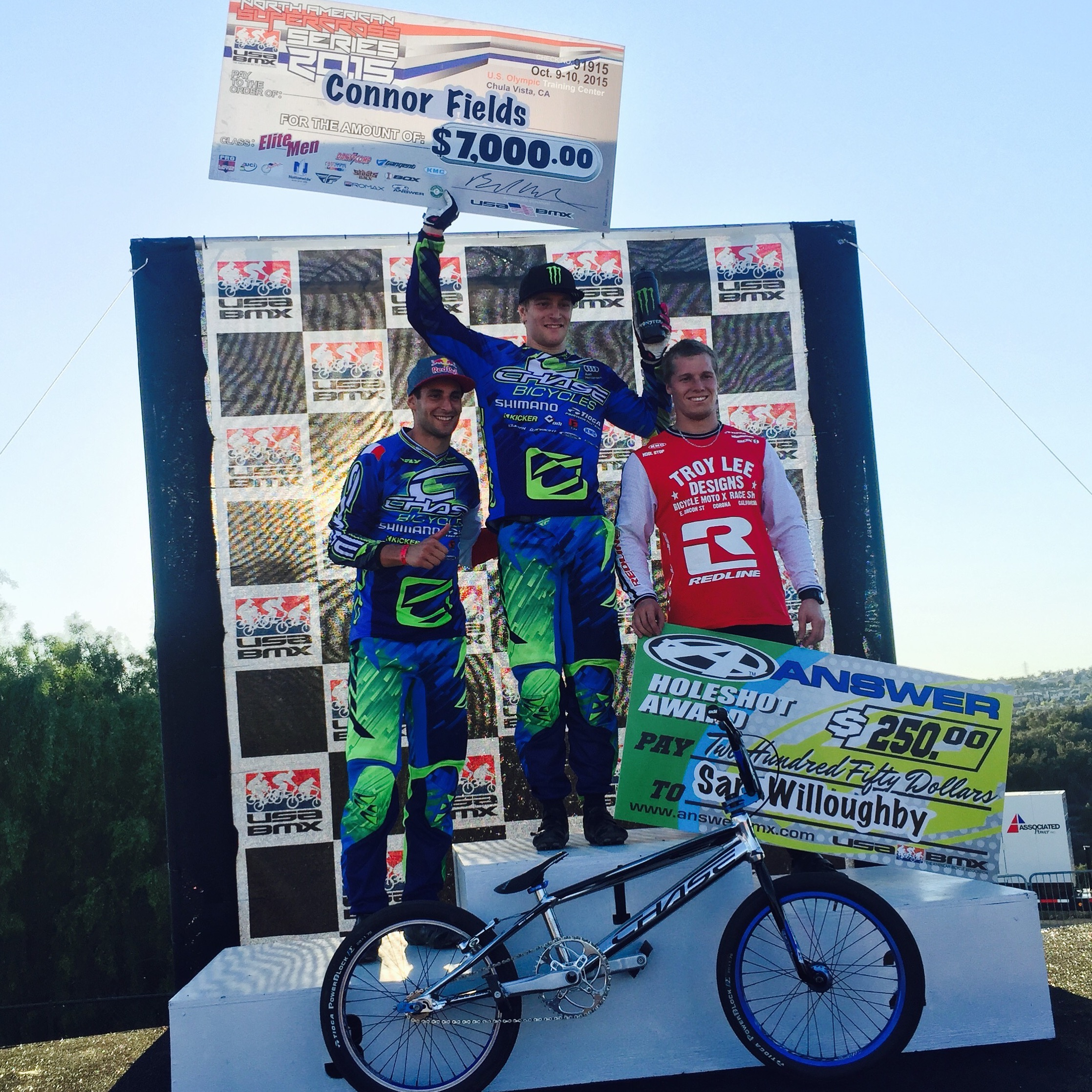 Connor Fields & Joris Daudet both win at the USA BMX North American SX Series!