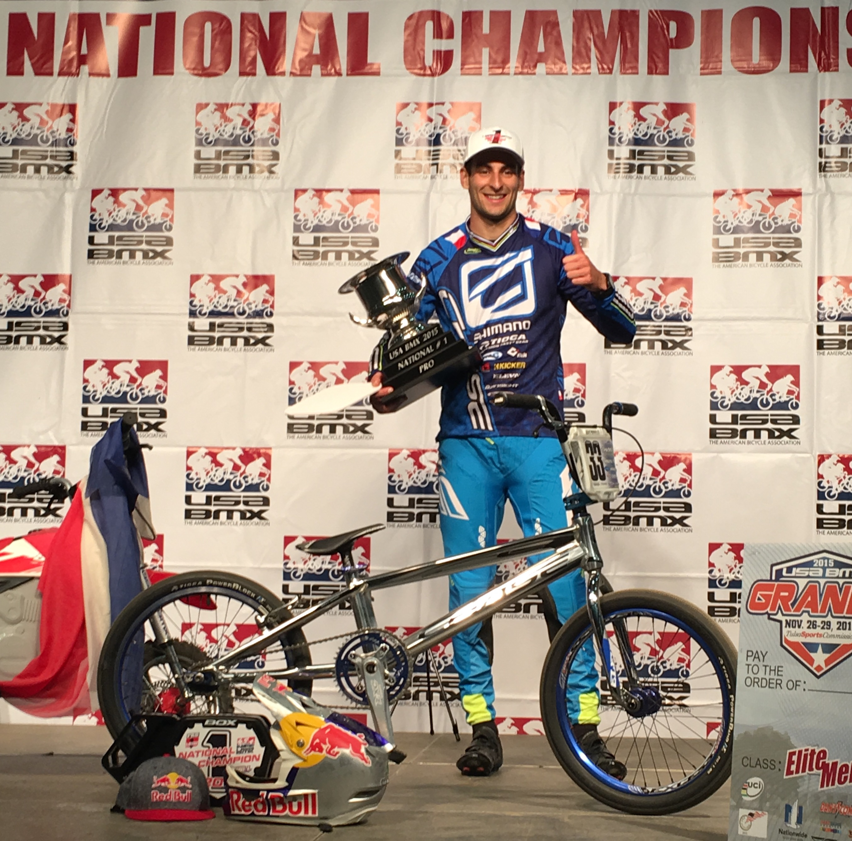 Joris Daudet Wins The Usa Bmx 1 Pro Title Chase Bicycles