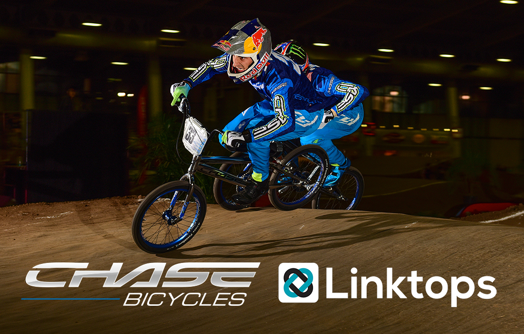 Chase BMX is proud to announce a new team sponsorship with Linktops