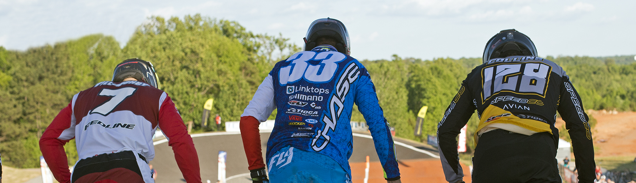 Joris Daudet finishes 2nd at the USA BMX North American Supercross series in Rock Hill, SC