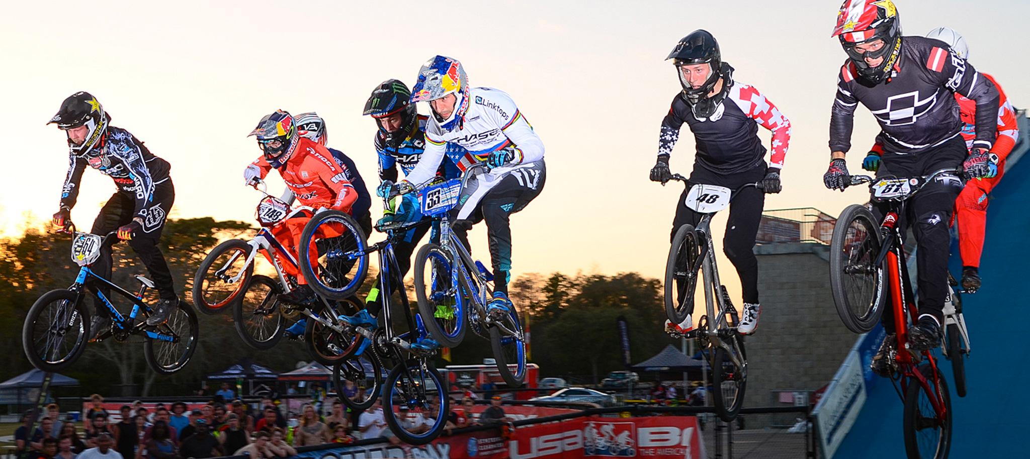 Daudet Wins & Mahieu 2nd at USA BMX North American SX Series