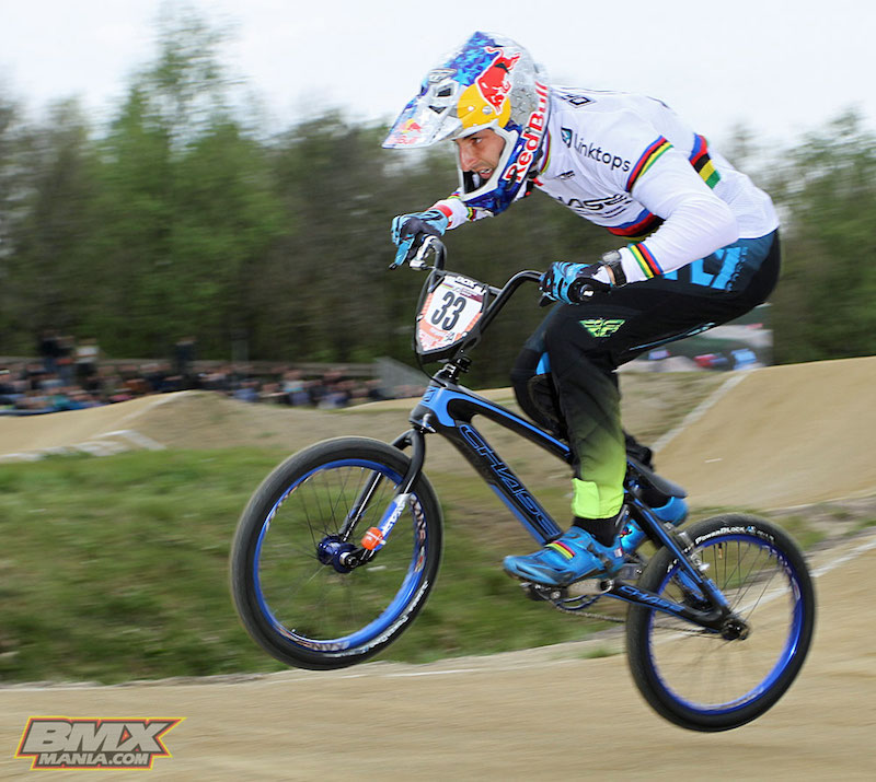 Joris Daudet Wins The Uci Bmx Supercross In Papendal Holland With