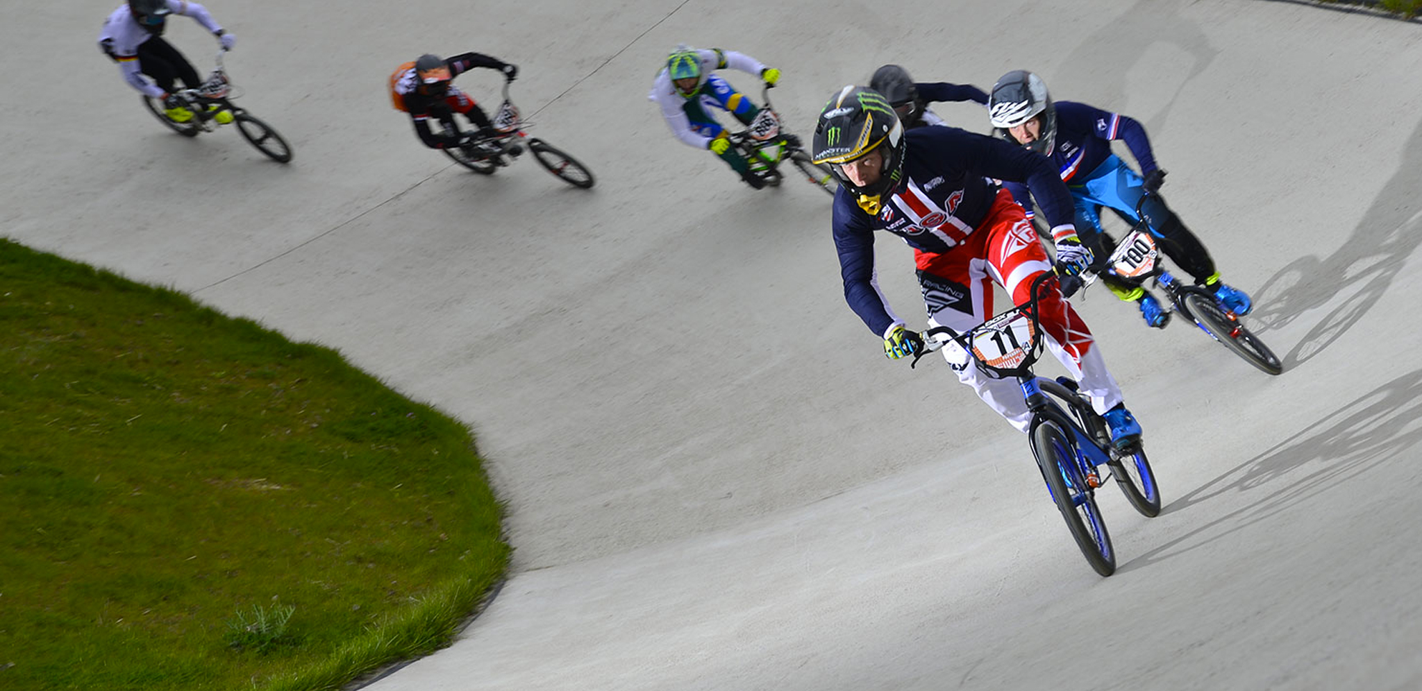 Joris Daudet wins the UCI BMX Supercross in Papendal, Holland with Connor Fields in 3rd.