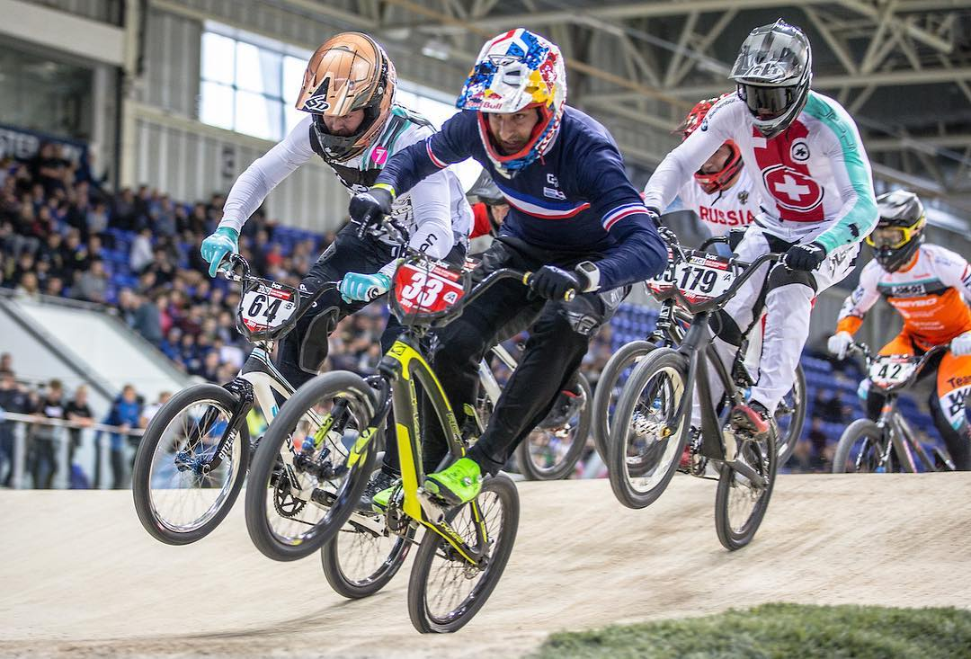 Joris Daudet Wins Day 1 Of The Uci Bmx Supercross World
